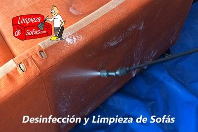 Desinfección y Limpieza de Sofás