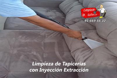 Limpieza de Tapicerías Inyección Extracción